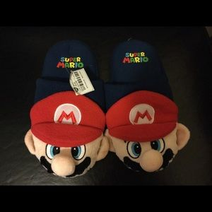 Other - Mario brothers kids slippers